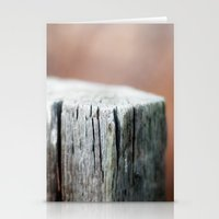 Fence Post Stationery Cards
