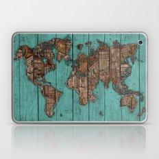 Wood Map Laptop & iPad Skin