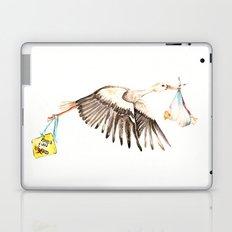 Baby on Bird Laptop & iPad Skin