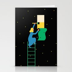 Behind The Stars Stationery Cards