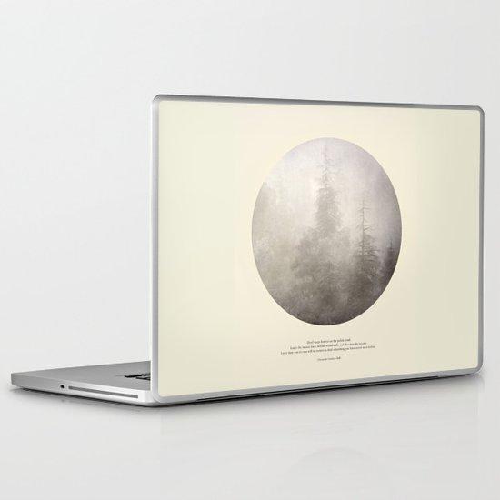 love the woods Laptop & iPad Skin
