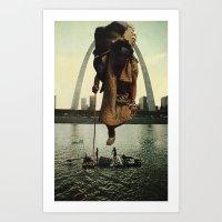 Traveler's Past Art Print