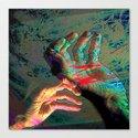 digital art hands Canvas Print