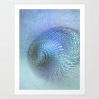 Fantasy Shell Art Print