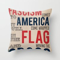 Fascism Throw Pillow