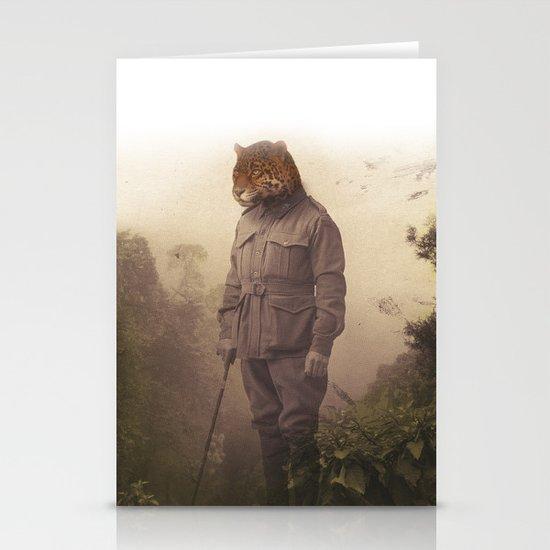 Jungle Jaguar Stationery Card