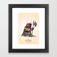 Sir Mancey  Framed Art Print