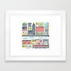 Dublin City Framed Art Print