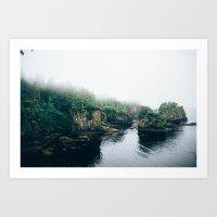 Cape Flattery Fog Art Print