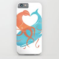 iPhone & iPod Case featuring Hug It Out by Chase Kunz