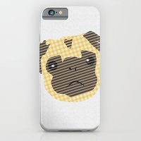 iPhone & iPod Case featuring Pug! by clickybird - Belinda Gillies