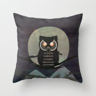 The Owls Are Not What Th… Throw Pillow