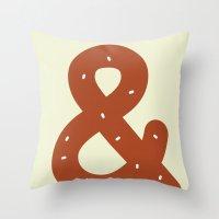 BR&TZEL Throw Pillow