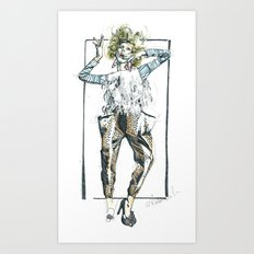 Baggy Trousers Art Print