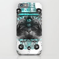 iPhone & iPod Case featuring Cattus by Gergő Orbán (TheSign)