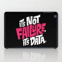 It's Not Failure, It's Data iPad Case