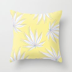 weed Throw Pillow