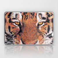 Tiger Close-up Laptop & iPad Skin