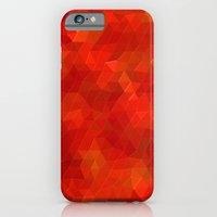 iPhone & iPod Case featuring Orange Flames by KRArtwork