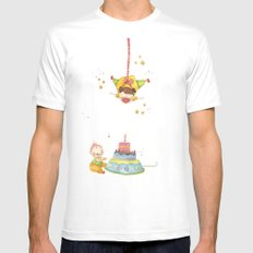 Baby birthday Mens Fitted Tee White SMALL