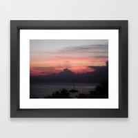 Jamaica - Sunsets IIII Framed Art Print