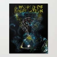 A World of Inspiration Canvas Print
