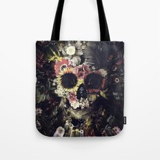 Garden Skull Tote Bag
