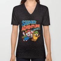 Super Adventure Bros Unisex V-Neck