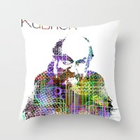 Kubrick Throw Pillow