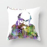 Kubrick Throw Pillow