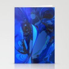 Cobalt Caverns Stationery Cards