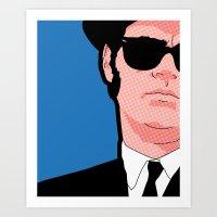 Pop Icons - Tribute Elwo… Art Print
