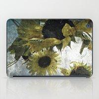 Autumnal Sunflowers iPad Case