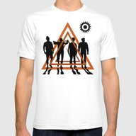 Clockwork Orange Mens Fitted Tee White SMALL