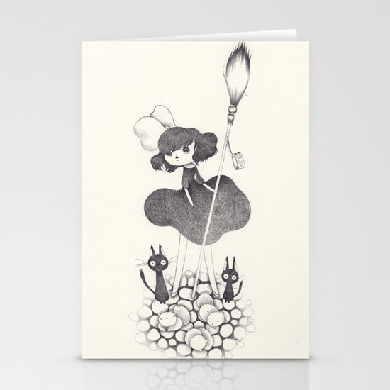 Delivery Service Stationery Card