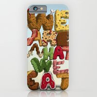 We are what we eat iPhone 6 Slim Case