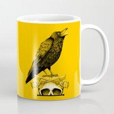 Black Crow, Skull and Cross Keys Mug