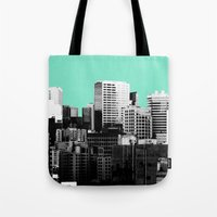 City Skyline Tote Bag
