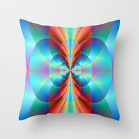 Circle Point Throw Pillow