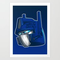 Full Metal Prime Art Print