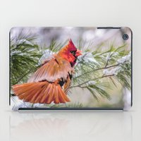 Christmas Cardinal. iPad Case