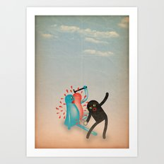 spaccato Art Print