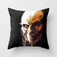 Dr. Satan Throw Pillow