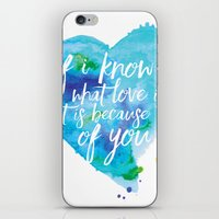 If I know what love is... iPhone & iPod Skin