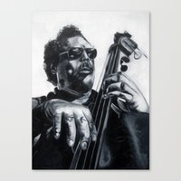 mingus Canvas Print