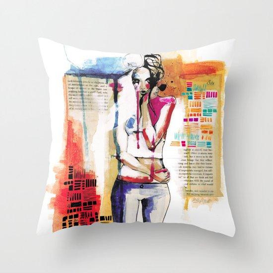 Sense VI Throw Pillow
