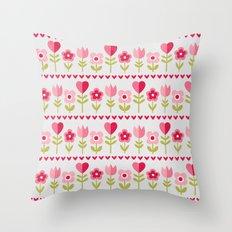 LOVE GARDEN Throw Pillow