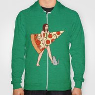 Play The Pizza Hoody