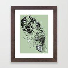 Hidden Home Framed Art Print