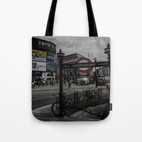 Piccadilly Circus London Tote Bag